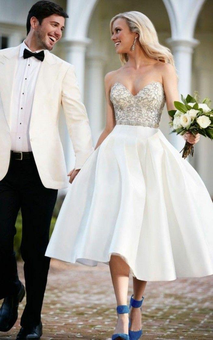 ▷ 1001+ ideas de vestidos de novia cortos y elegantes | novias