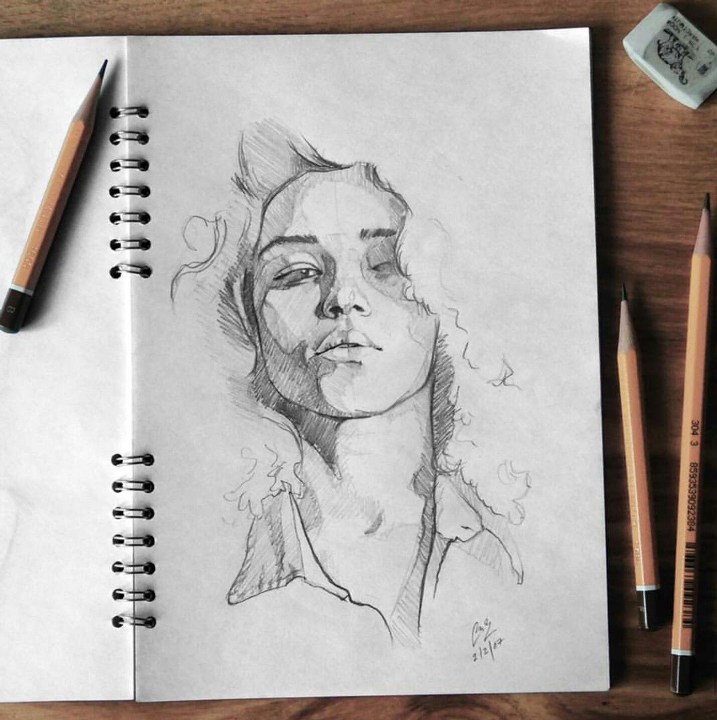 Taken from instagram tashimrod face sketch sketch art drawing sketches sketching