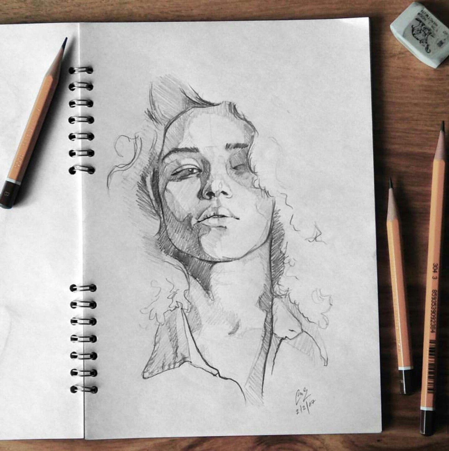 Pencil Sketch Instagram