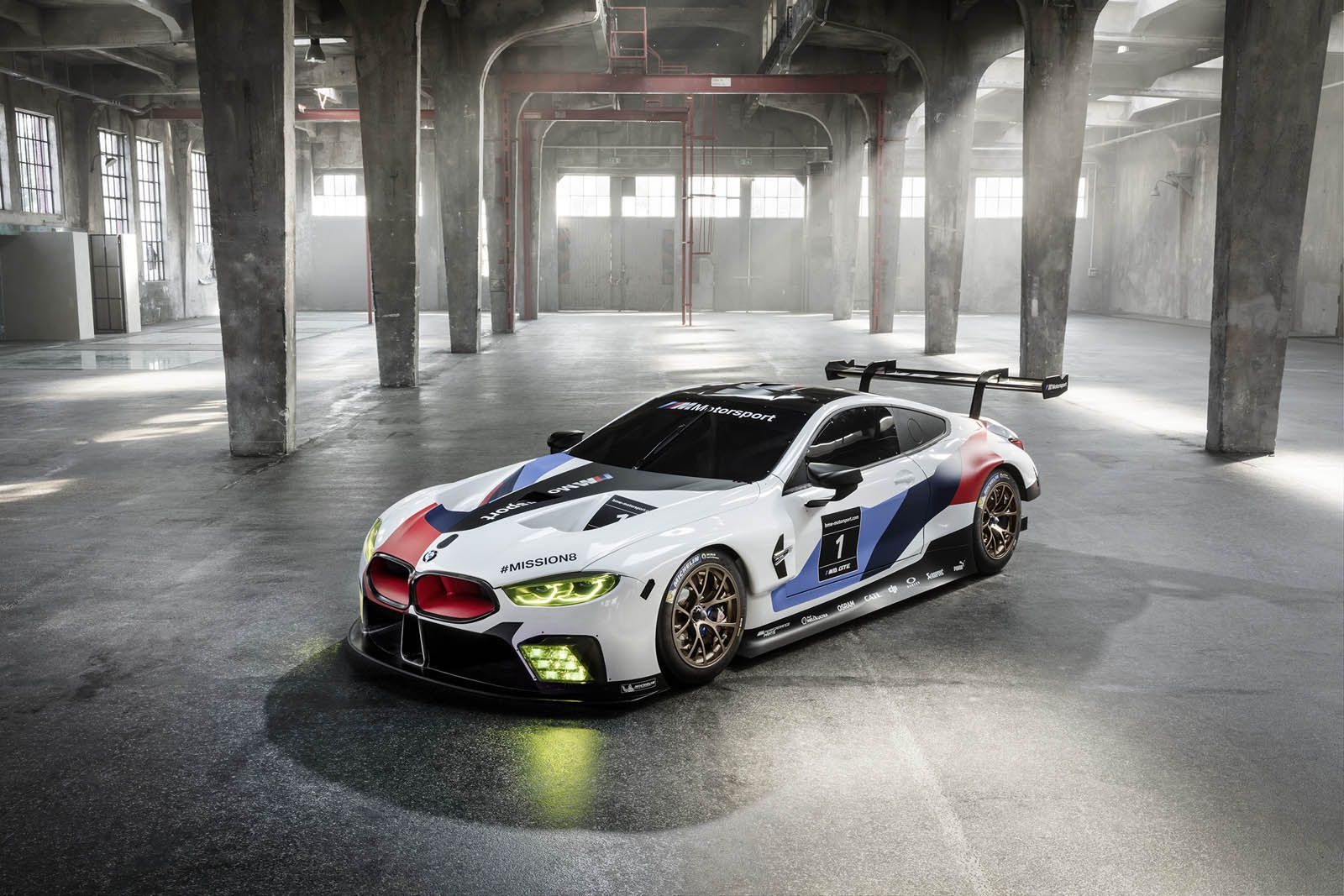 Bmw M8 Gte Racer Rocks Frankfurt Before The Road Car S Even Ready