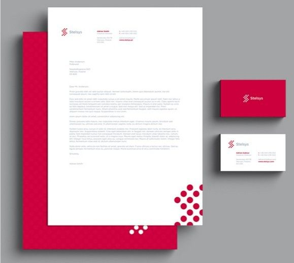 Psd Template LetterheadBusiness Cards  Branding And Stationary