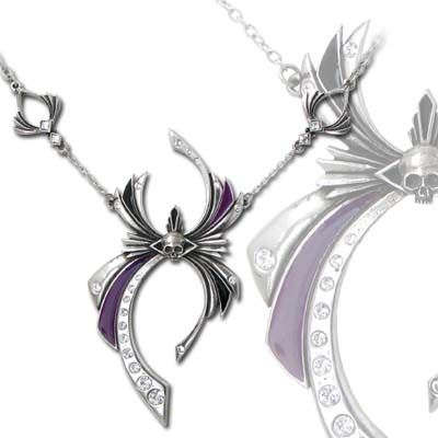 Alchemy Gothic Incy Wincy Forme Pendant - P626