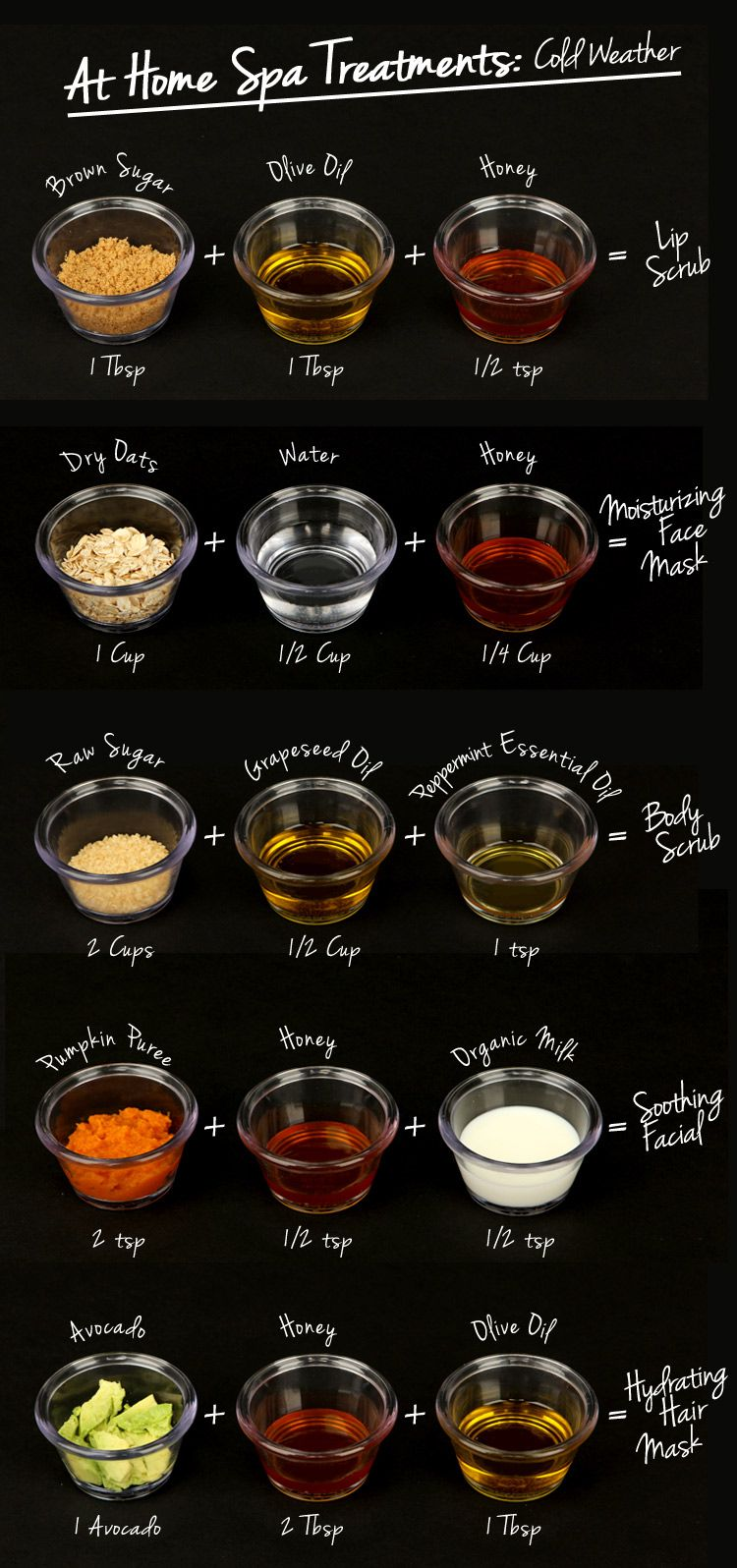 At Home Spa Treatments Cold Weather Diy Beauty Care Diy Spa