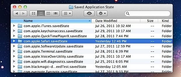 Saved Application State folder How to REMOVE Computer Virus