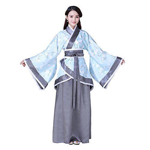 Ez-sofei Women s Girls Ancient Chinese Traditional Costumes Hanfu (S ... 2652f65de