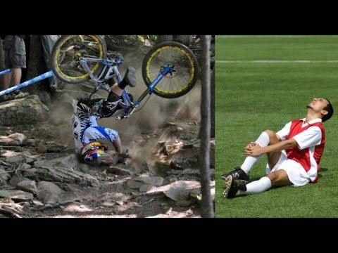 Mountain Bike Vs Football Mountain Biking Bike Epic Fail Pictures