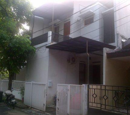 rumah minimalis 2 lantai full bangunan permata bintaro rp