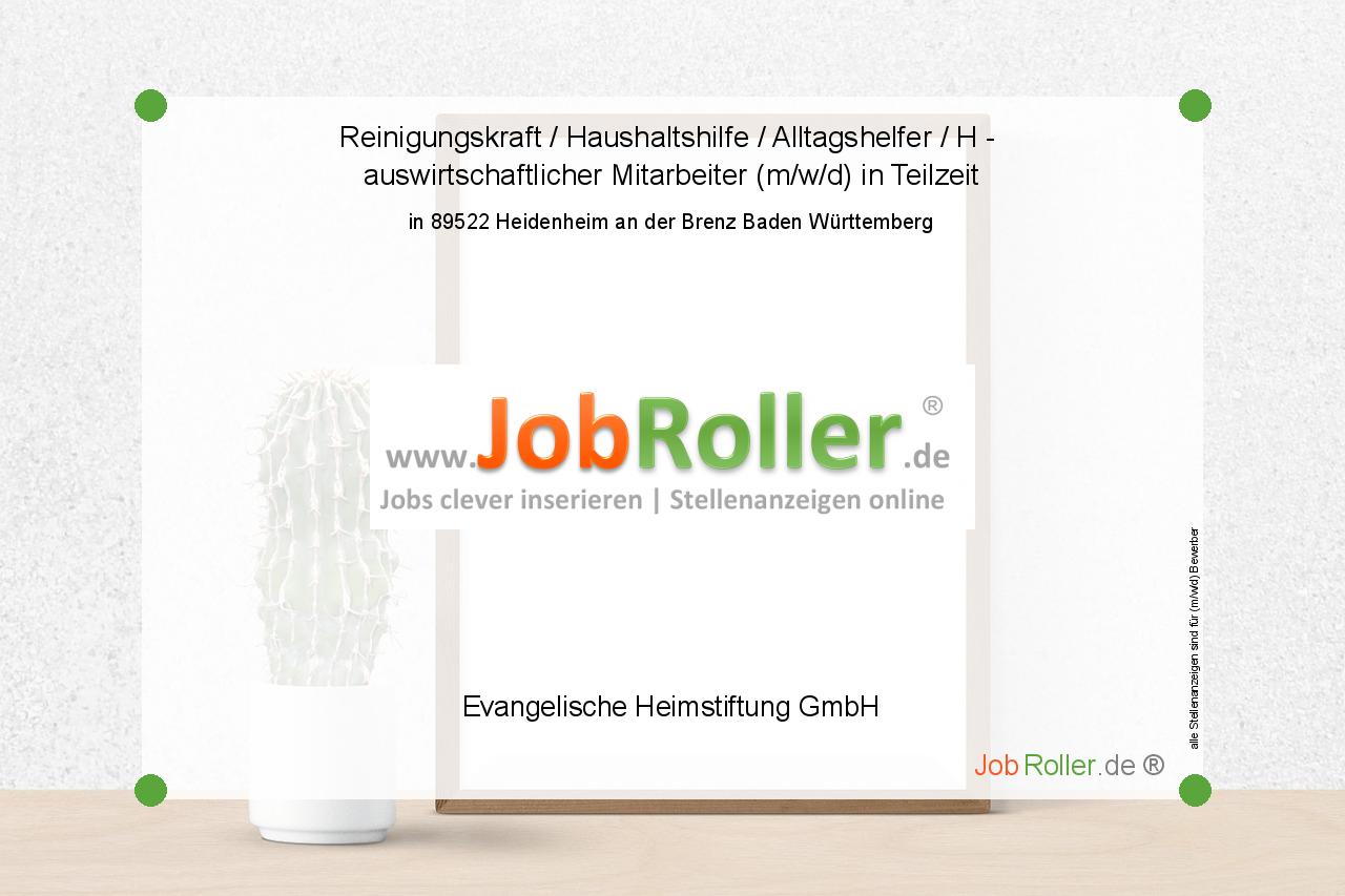 Jobs Job Jobroller1 Heidemheim Bw Badenwurttemberg Reinigungskraft Haushaltshilfe Job Stellenanzeigen Stellensuche