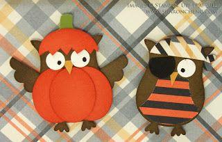 SHARING CREATIVITY and COMPANY: Pumpkin, Pirate and Pilgrim Owl Punch Art