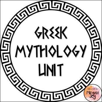 Greek Mythology UnitThis unit has been aligned with third