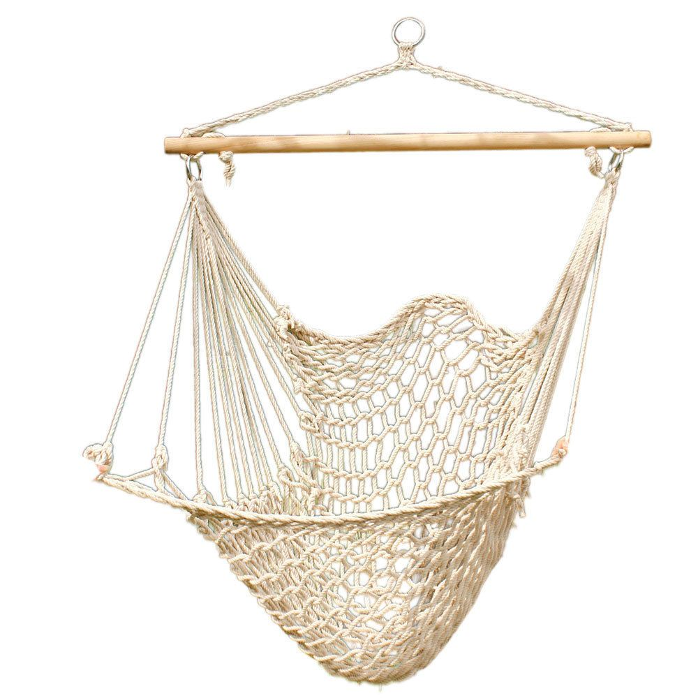 Details about Hammock Cotton Swing Camping Hanging Rope