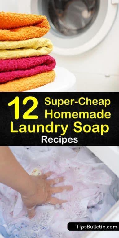12 Easy Amp Inexpensive Diy Laundry Soap Recipes Laundry