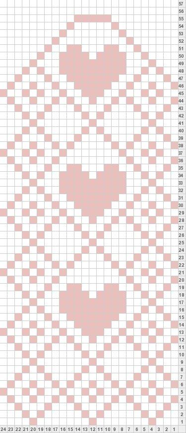 Tricksy Knitter by Megan Goodacre: Heart Mittens | Bordado Noruego ...