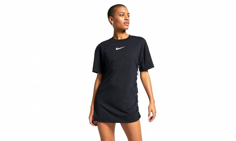 Nike WMNS Sportswear Swoosh Dress (black) in 2019 | Premium