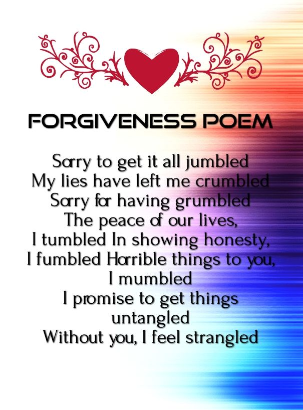 "short note on forgiveness Short note on forgiveness english 099 23 october 2014 true forgiveness since human beings communicated with others by language, they have known the existence of the word "" forgiveness "" but the truth is that not many people know the accurate meaning of this abstract term until they have deeply experienced and thoroughly thought about it."