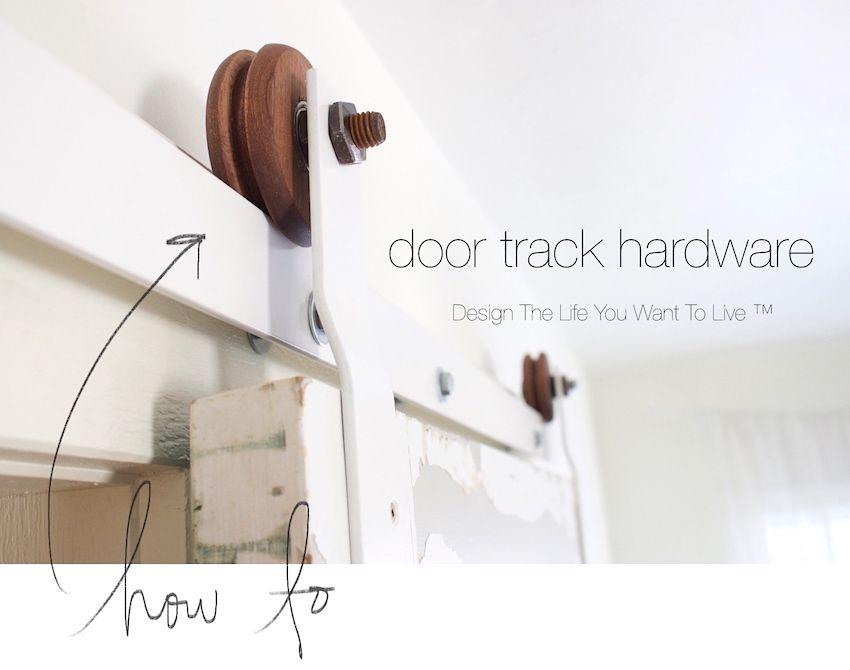 Barn Door Track Hardware How To Sliding Door Hardware Sliding