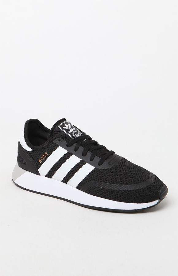 Adidas n 5923 negro & blanco zapatos Classic caballeros Pinterest