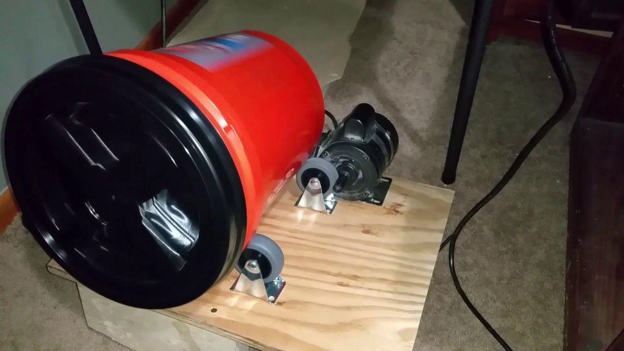 Diy Wet Brass Tumbler Tumbler Reloading Ammo Reloading Equipment