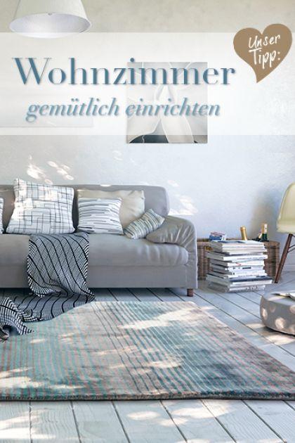 Wohnzimmer einrichten: Basics & Wohlfühlideen #benuta #teppich #diy ...