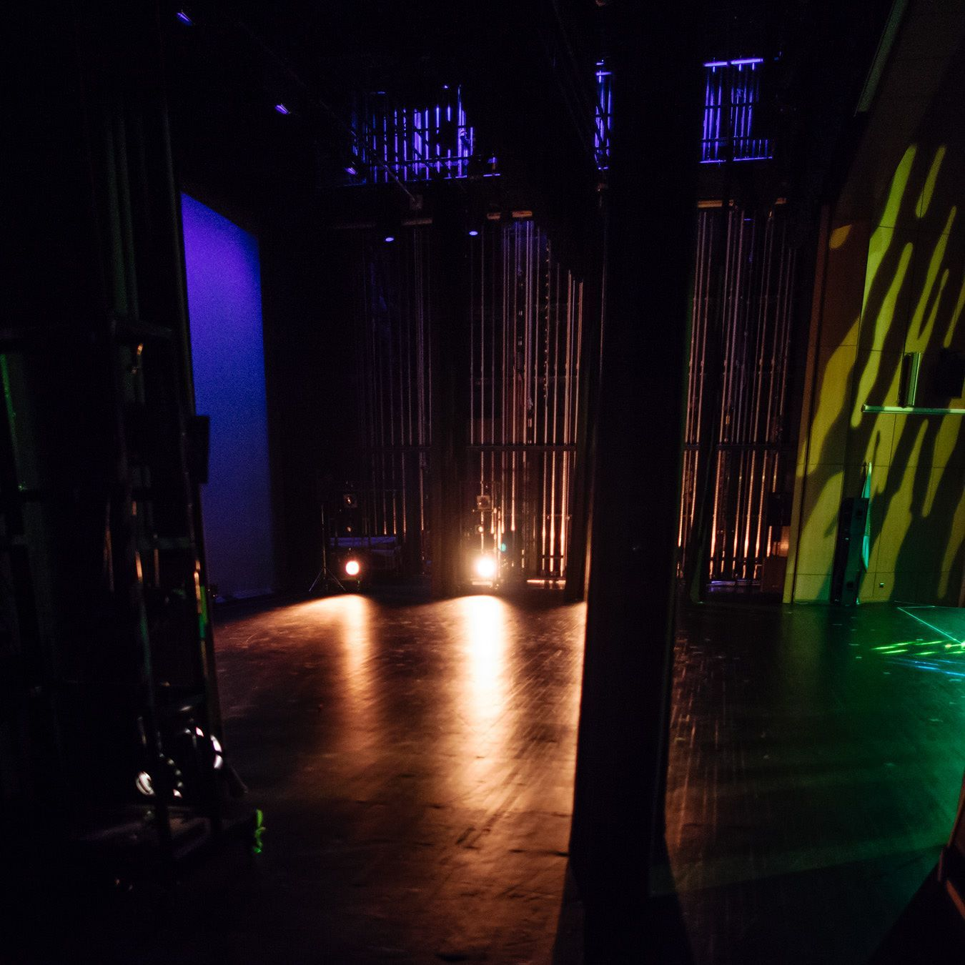 The Stillness before the show #backstage