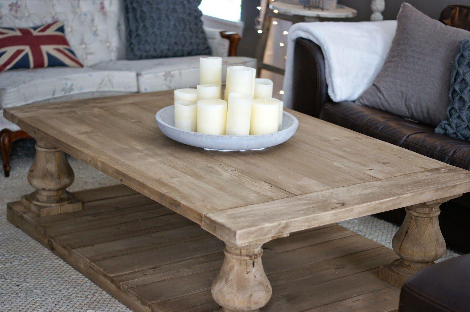 Restoration Hardware Balustrade Coffee Table