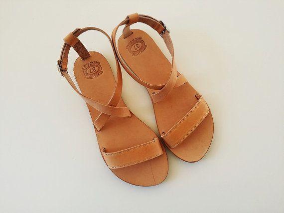 f0ecf7adc Open Toe Greek Leather Sandals - Women Handmade Greek Sandals By Leatherhood