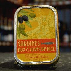 Sardinen mit Olives niçoises