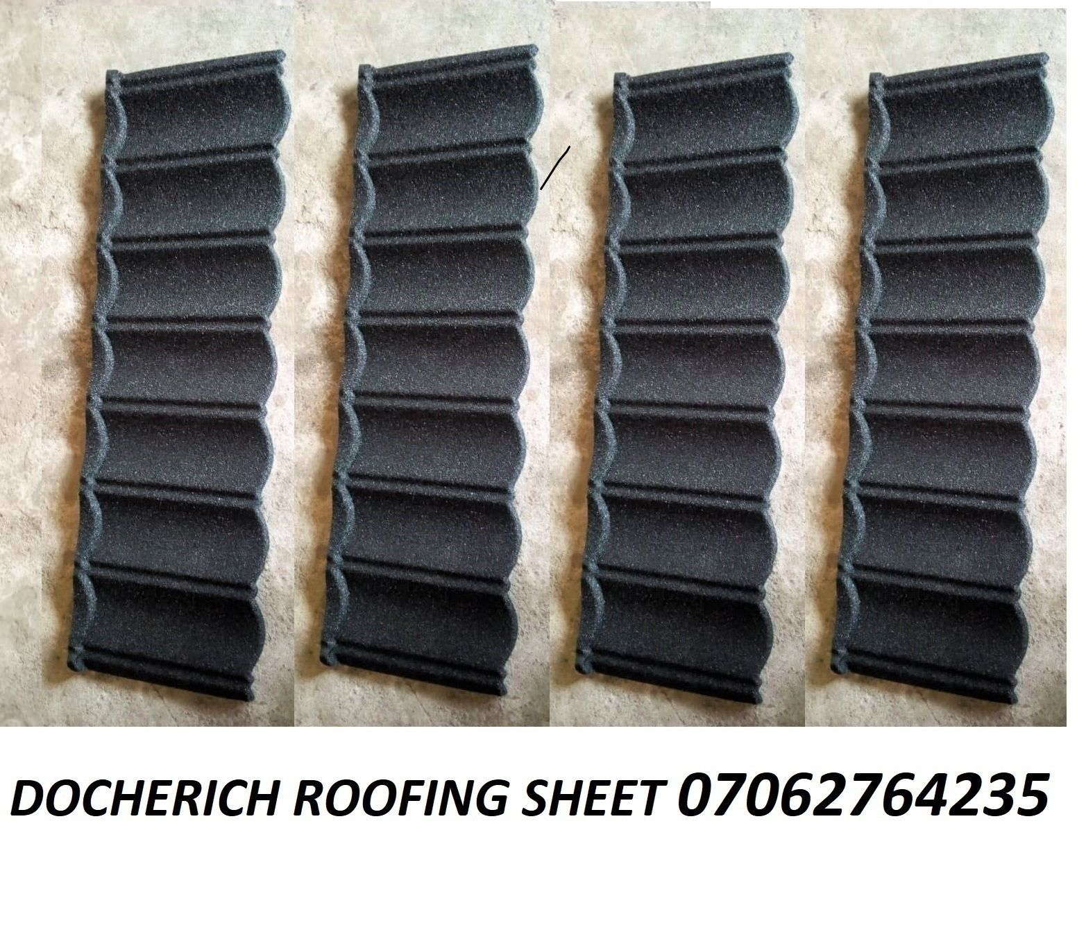Docherich Solid Stone Coated Roofing Sheet 07062764235 Roofing Sheets Roofing Sheet