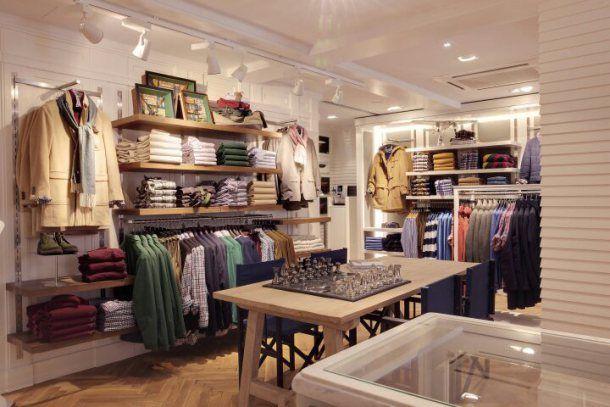 Instore visual merchandising display tiendas tiendas for Diseno de interiores almacenes de ropa