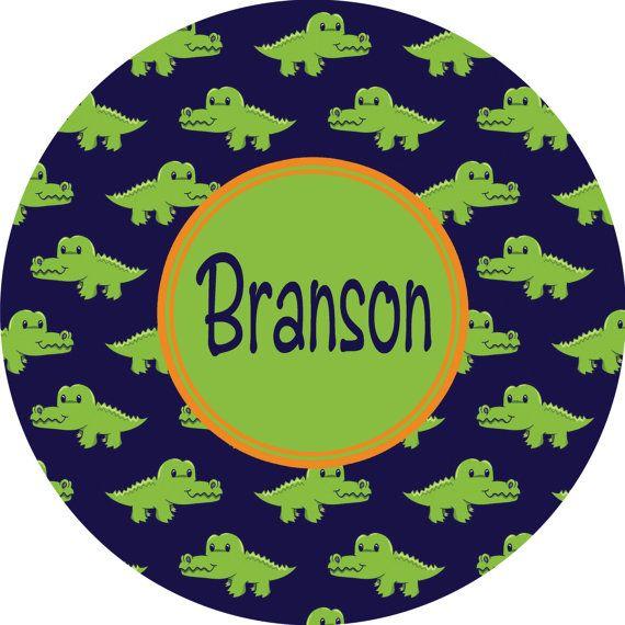 Personalized Melamine Plate Boys Alligator Plate Kids Melamine Dishes Dinnerware For Boys Preppy Alligator Plate  sc 1 st  Pinterest & Personalized Melamine Plate Boys Alligator Plate Kids Melamine ...