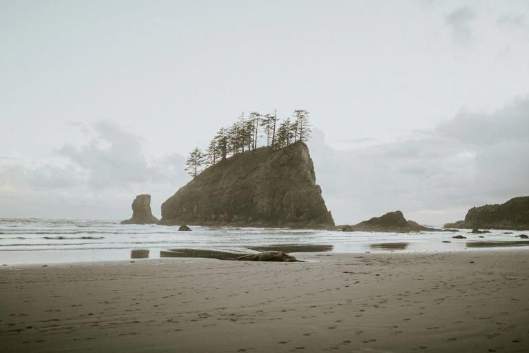 La Push Second Beach Wa State 4 Mike Hike Round And If Have Right Permits Can Camp Campingwashingtonstate