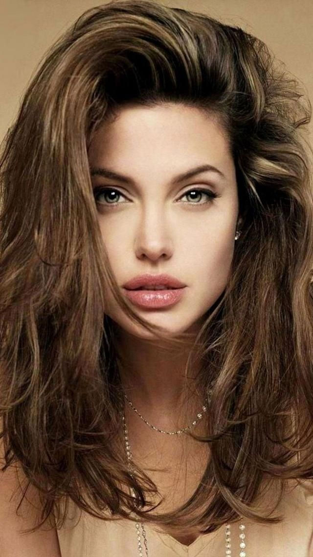Angelina Jolie - Long Hair | Makeup | Hair Extensions | Hair Color | Beautiful Women | Sexy Girls | Ciao Bella Hair | Venus Hair | Lingerie | Swimsuit Models | Bikini Models | Glamour Models | Celebrities:
