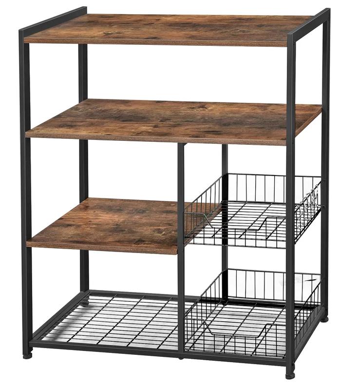 Foundry Select Brutus 31.5 Standard Baker's Rack   Wayfair