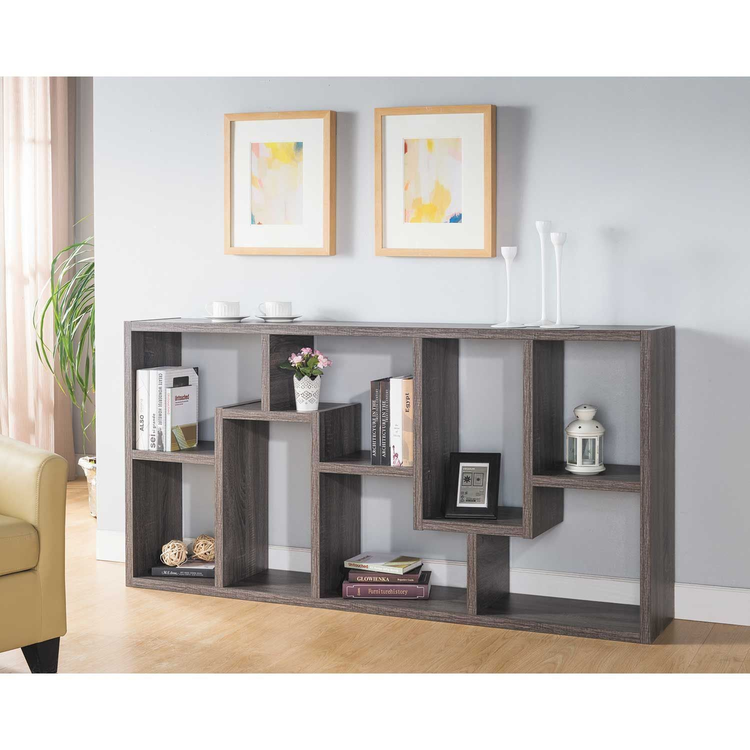 Graydon Puzzle Display Cube 161774 Dgy Id Usa Furniture Afw