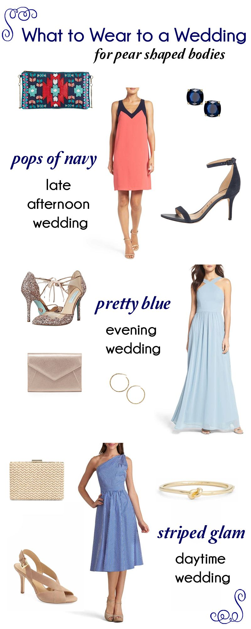 81191724 The Best Wedding Guest Dress for a Pear Shaped Body | Bloggers' Best ...