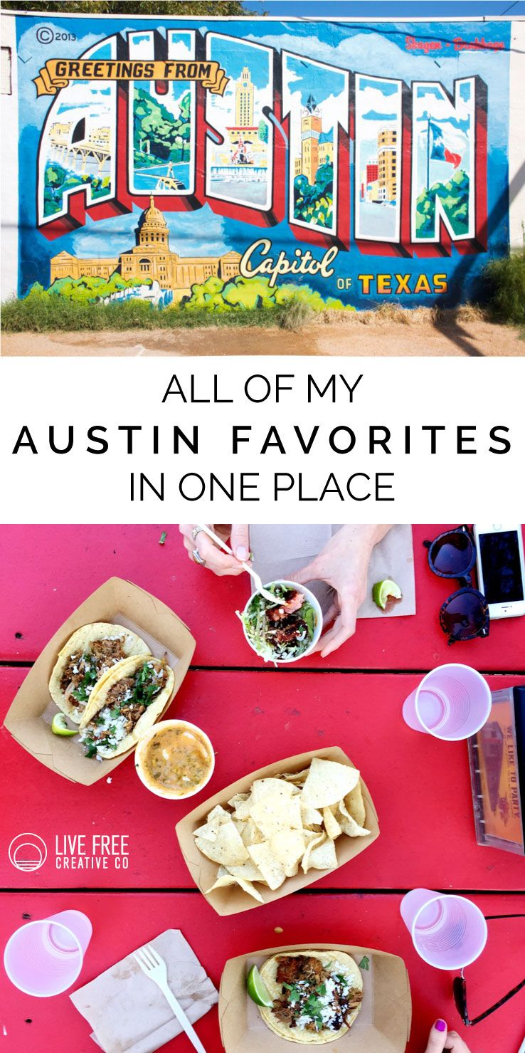 All of my austin favorites in one place creative live