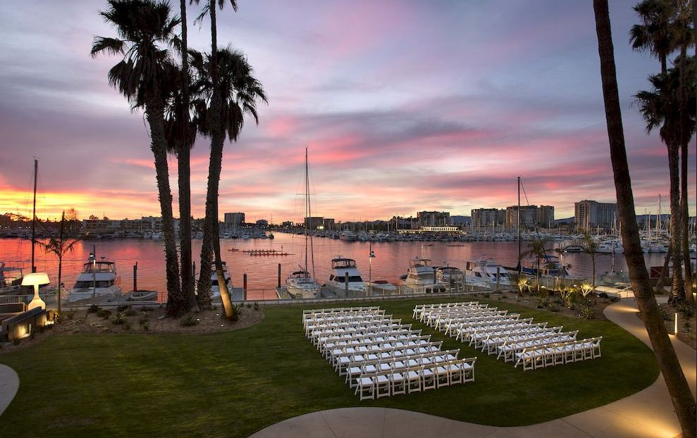 Marina Del Rey Hotels Wedding Venue