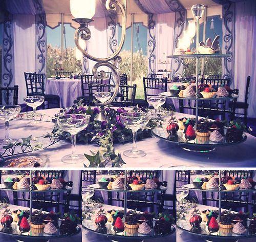 Harry Potter World Wedding: Bill And Fleur's Wedding Tent