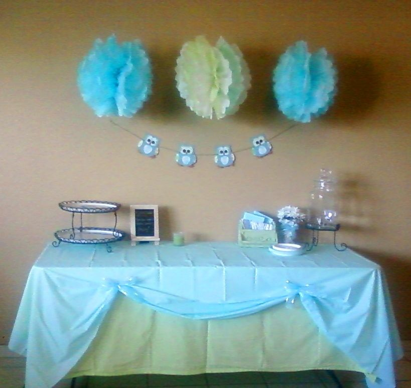 Lovely Baby+Shower+Table+Decorations | Tablecloths: Lime Green Twin Flat Sheet U0026