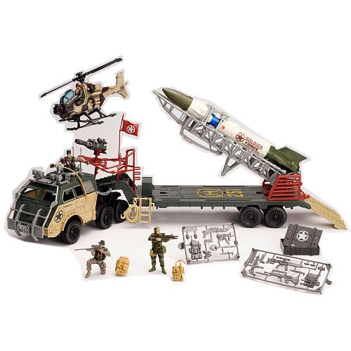 True Heroes Soldier Force Rocket Hauler Playset Toys R Us Toys