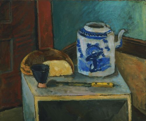 Max Weber (American, born Russia. 1881–1961), Still Life with Chinese Tea Pot, 1925
