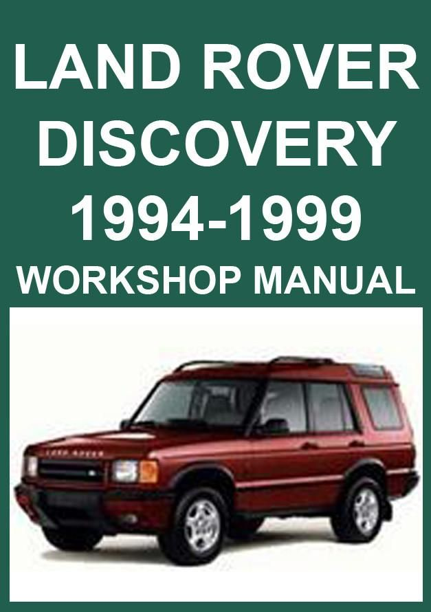land rover discovery 1994 1999 workshop manual land rover car rh pinterest com 1999 land rover discovery ii repair manual pdf 1999 land rover discovery owners manual