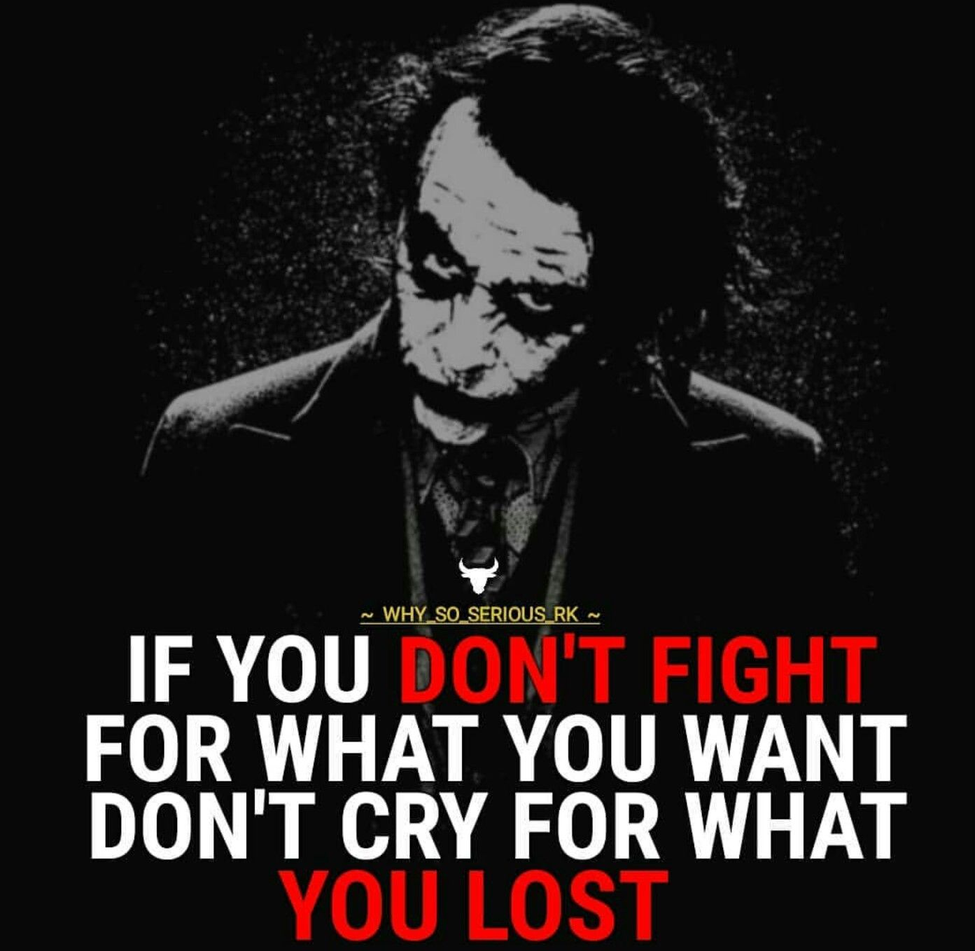 i am figthing every second joker quotes badass quotes
