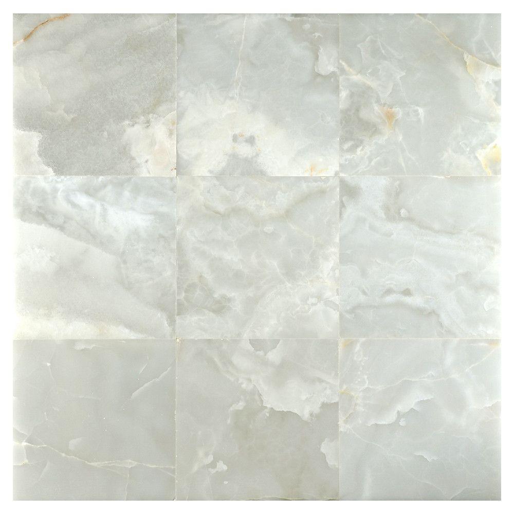 Onyx Tile | Blanc Nuage Premium Polished tile for bathroom | Master ...