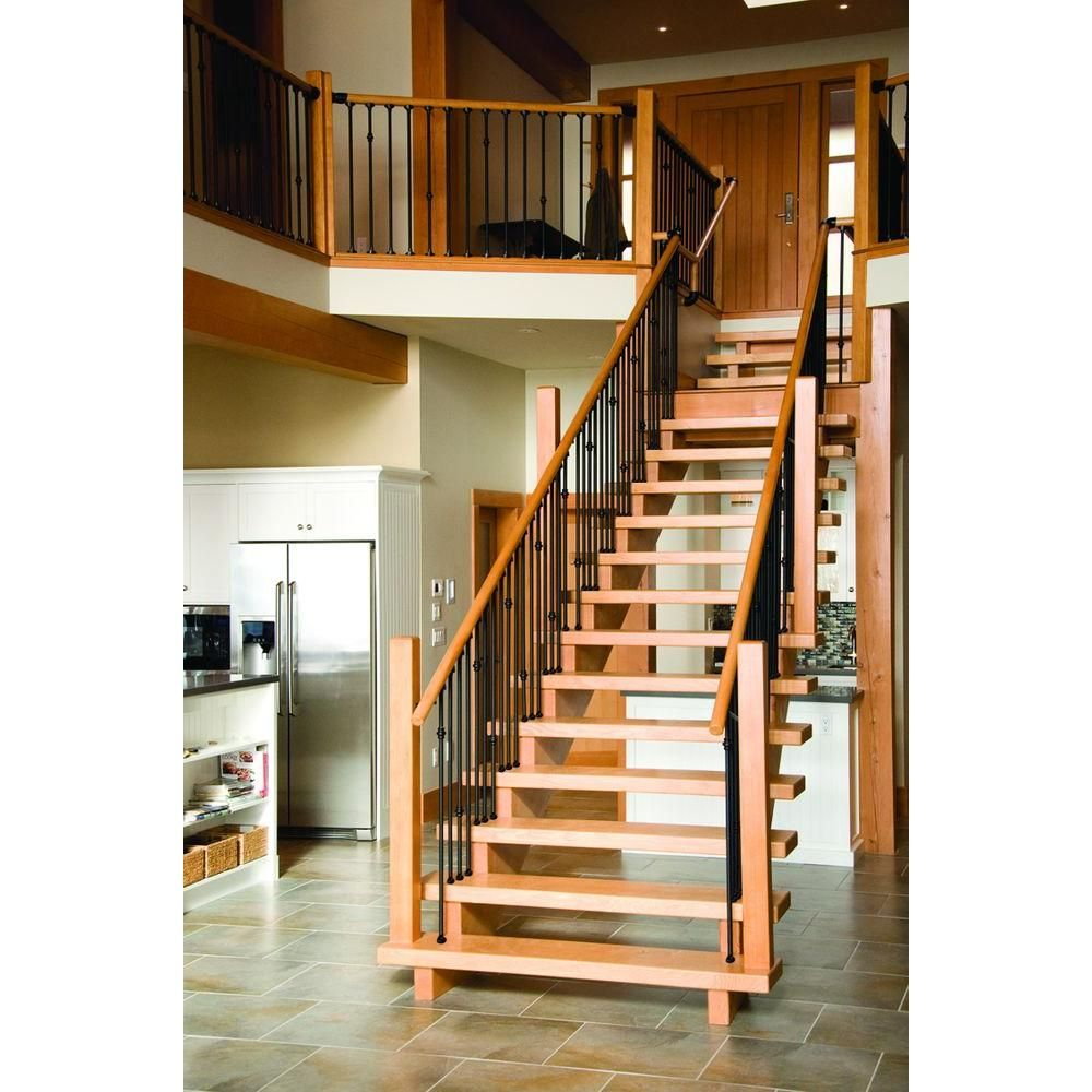 Best Stair Simple Hemlock Contemporary Newel He4416048W 640 x 480