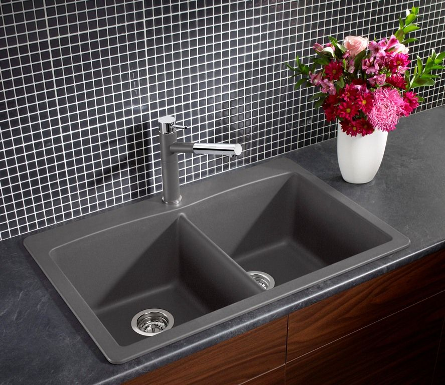 Made from 80% natural granite in Canada. Silgranit is non-porous and ...