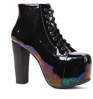 Brand Lita New Jeffrey Campbell Lita Brand schwarz Iride Heel Größes  6, 7, 7.5, 8 ... 3a7e88