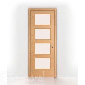 Bleached Oak 2 8ft Interior Door