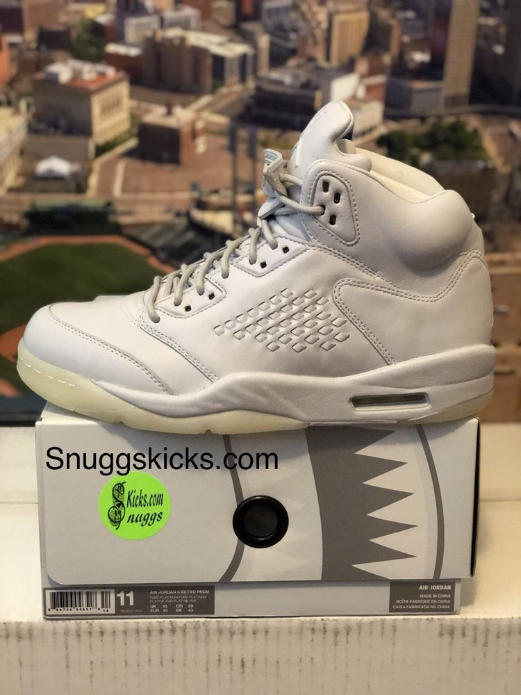 f8c7aef7261d ... Athletic Shoes by Carolyn Banks. Air Jordan Retro 5 Premium Pure  Platinum Size 11 Brand New  fashion  clothing