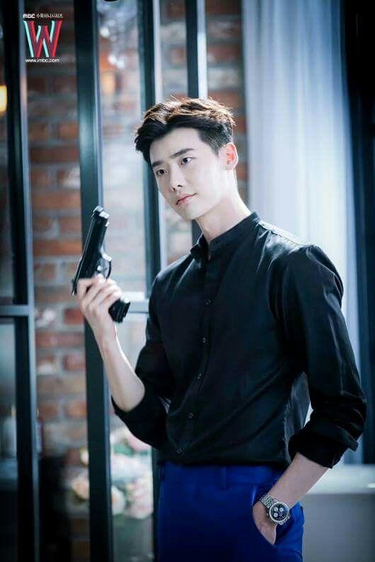 Mesmerizing Lee Jong Suk In Drama W Aktor Lee Joon Pasangan Remaja